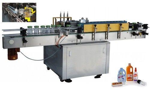 China Máquina automática de aplicador de etiquetas de cola fría para botellas redondas