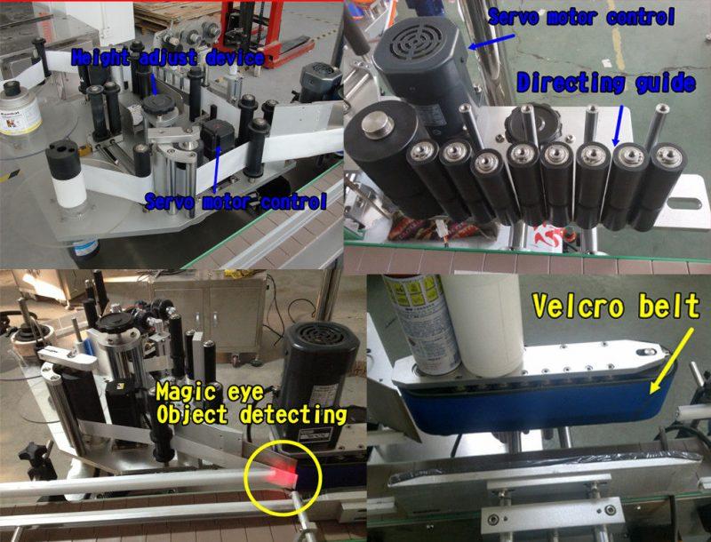 Etiqueta de botella cosmética de China Etiqueta de botella redonda / máquina de etiquetaxe autoadhesiva provedor