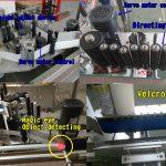 Etiqueta de botella cosmética Etiqueta de botella redonda / Máquina de etiquetaxe autoadhesiva