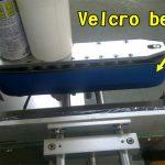 Máquina aplicadora de etiquetas de esmalte adhesivo