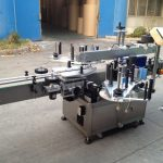 Aplicador de adhesivo automático de botellas presurizadas, máquina de etiquetaxe automática de 550 kg