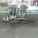 Máquina de etiquetas automática intelixente Siemens PLC Control con superficie de recollida