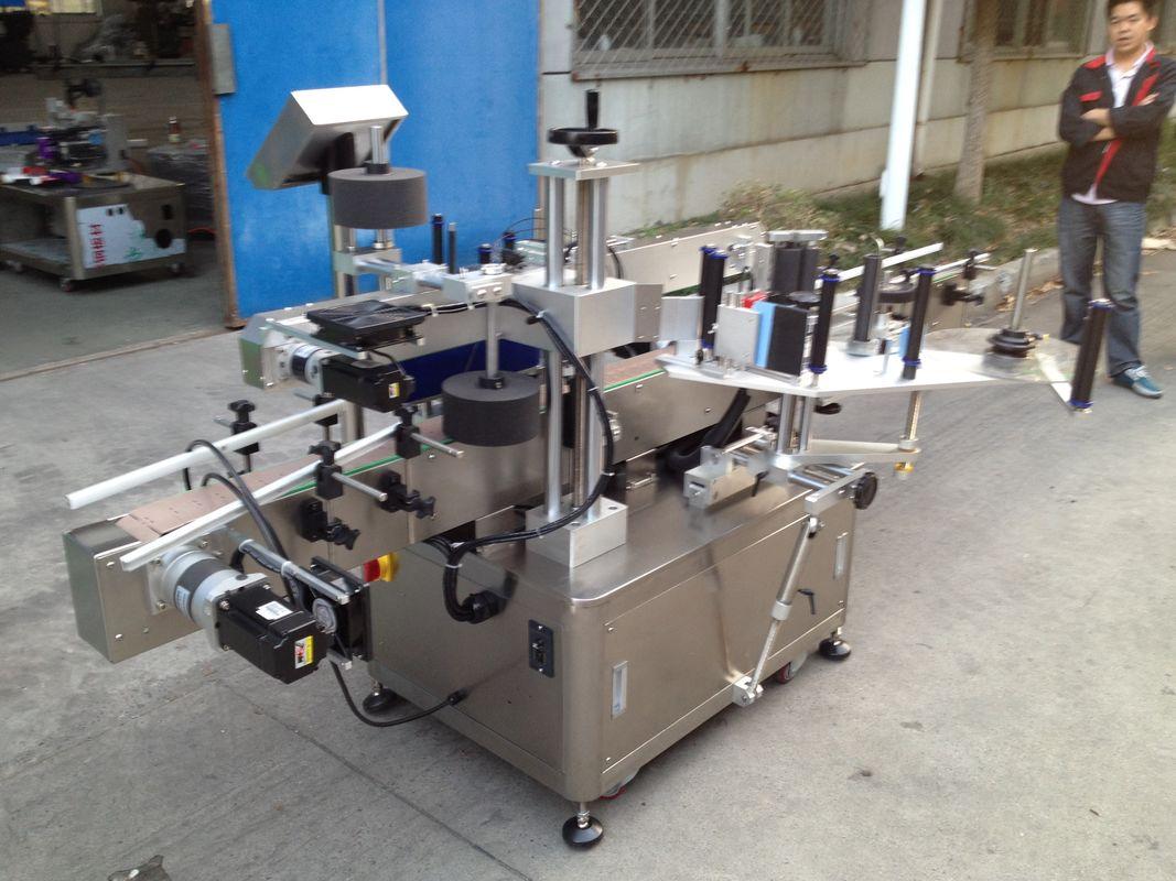 Máquina aplicadora de adhesivo automático de botella Opp para pegamento de fusión quente de alta velocidade