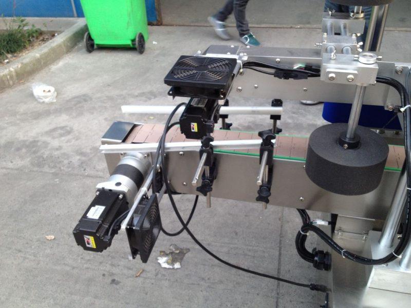 China Máquina aplicadora de etiquetas de cola de fusión en frío / húmido para subministradora de enerxía de botella redonda 50HZ 380V
