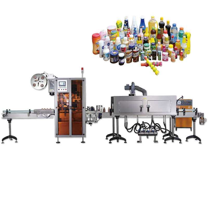 Máquinas de etiquetaxe retráctil de selado de tapa de botella en xeral con longa duración