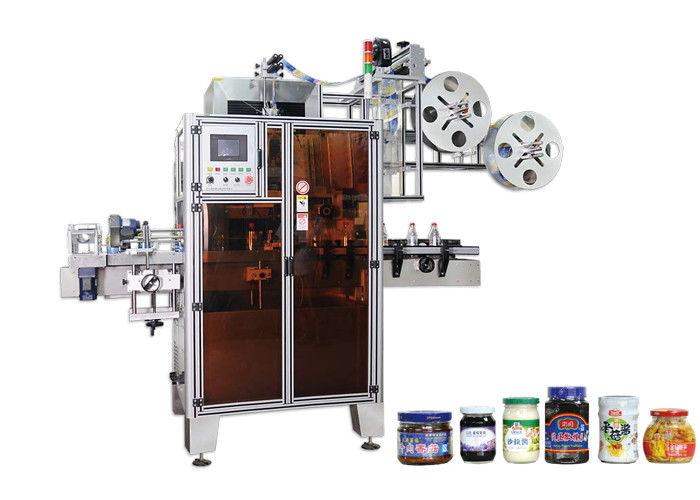 Etiquetadora automática de manga retráctil PET de alta eficiencia para pescozos