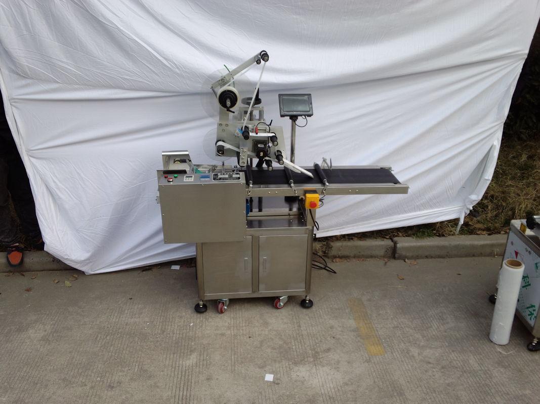 Máquina de etiquetaxe superior Aplicador de etiqueta adhesiva Máquina de codificación opcional
