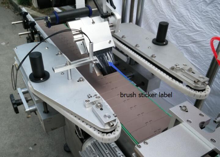 Máquina de etiquetaxe automática de etiquetas de botellas redondas para motor de raios de botellas de cervexa