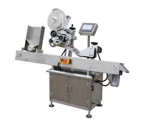 Máquina de etiquetaxe de etiquetas de vial de bolígrafo horizontal