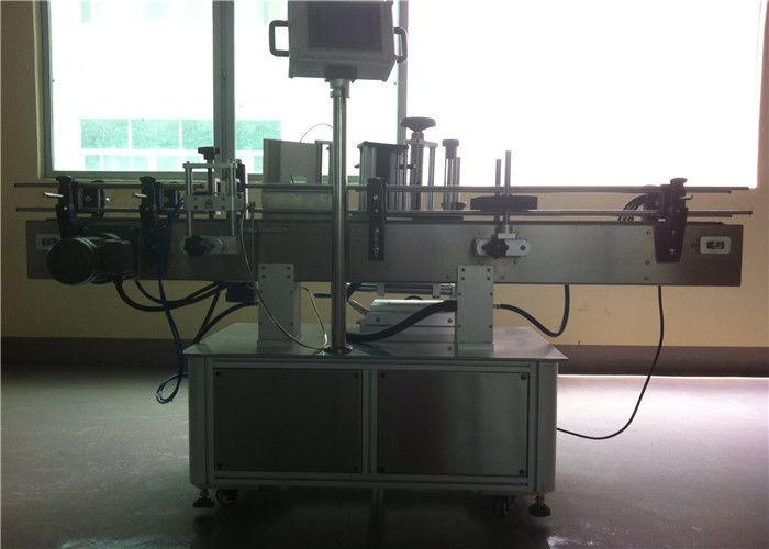 China Máquina de etiquetaxe de etiquetas de botellas redondas CE para a industria de bebidas / bebidas PET