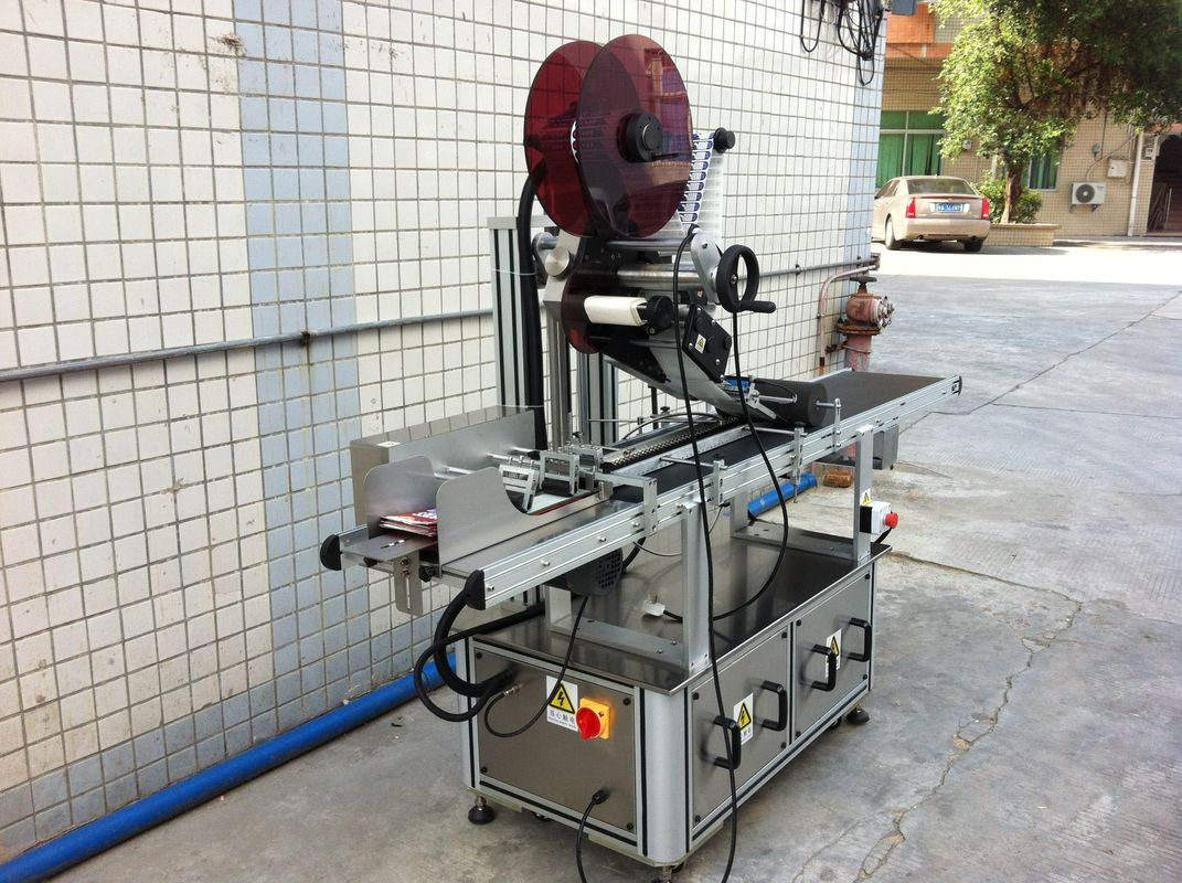Máquina de etiquetaxe superior Drive Electric, máquina de etiquetaxe de adhesivos autoadhesivos