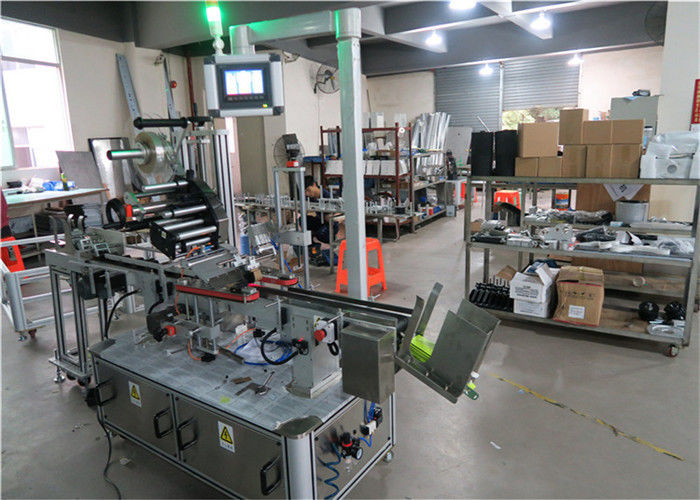 Aplicador de etiquetas de superficie plana da máquina de etiquetaxe automática