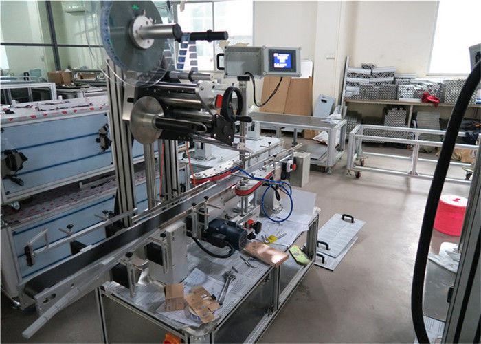 Equipo aplicador de etiquetas de velocidade superior de 1-50 m / min de China para superficies planas