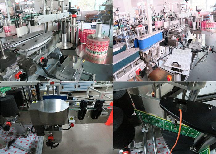 Máquina de etiquetaxe frontal e posterior de botellas diarias de China, provedor de máquina de etiquetaxe de botes