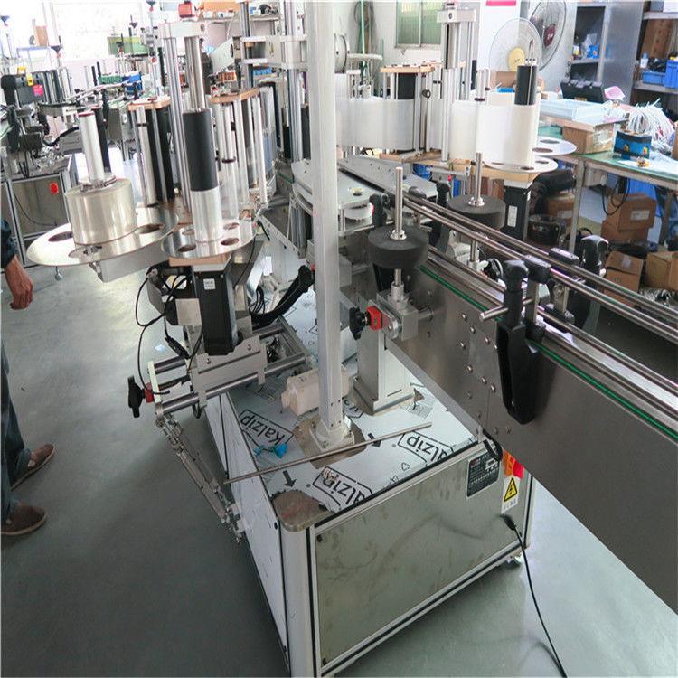 Proveedor de China de etiquetaxe de alta velocidade de plástico Buket, máquina de etiquetaxe de dous lados