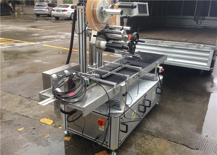 Rodillos de alta velocidade Etiqueta adhesiva superior Máquina de control de paso de motor