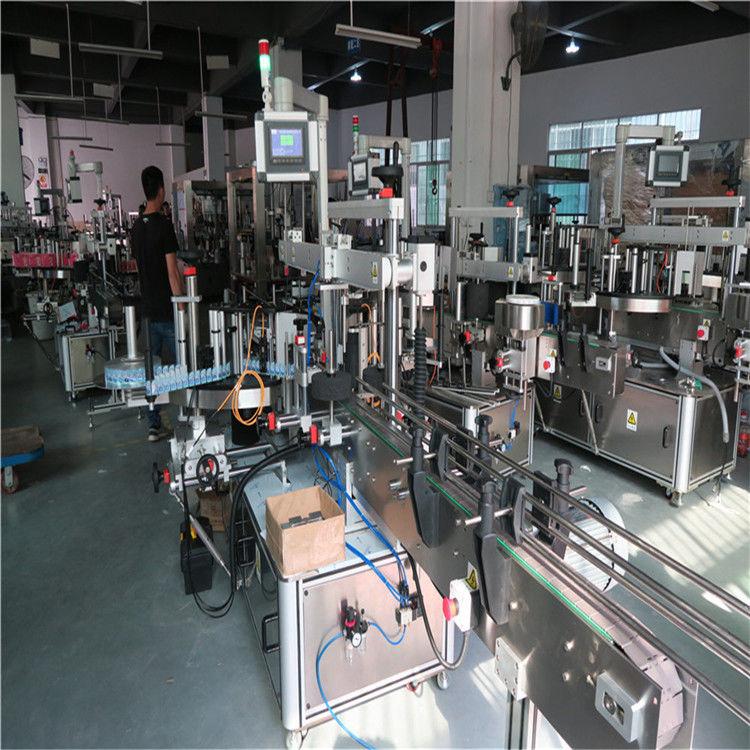 China Máquina de etiquetaxe de botellas de plástico, provedor de máquina de etiquetaxe de botellas de auga mineral