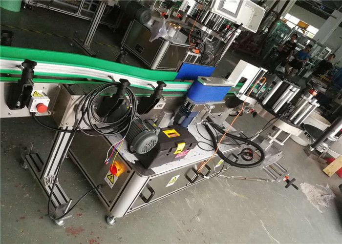 Aplicador de etiquetas de botellas de cervexa, máquina de etiquetaxe automática diámetro de rolo de 330 mm