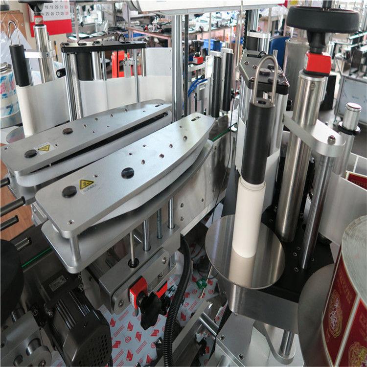 Proveedor de China máquina de etiquetaxe de etiquetas autoadhesivas totalmente automática a dúas caras