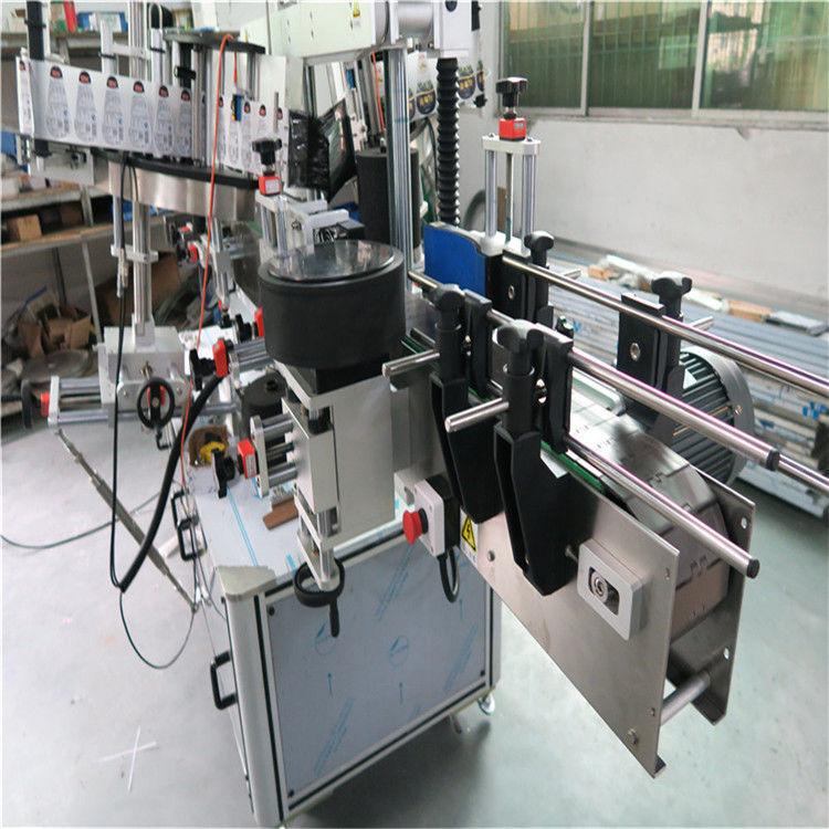 Proveedor de máquina de etiquetaxe de botellas ovaladas de China, xampú aplicador de etiquetas adhesivas e etiquetaxe de deterxente