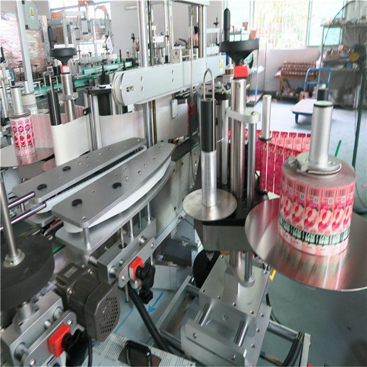China Máquina de etiquetaxe automática de etiquetas adhesivas traseiras dianteiras Proveedor de diámetro exterior máximo de 330 mm