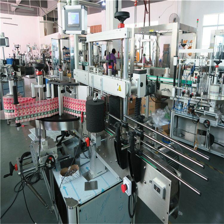 Proveedor de etiquetaxe automático de botellas de vidro de China de 350 ml de 190 mm de altura máxima