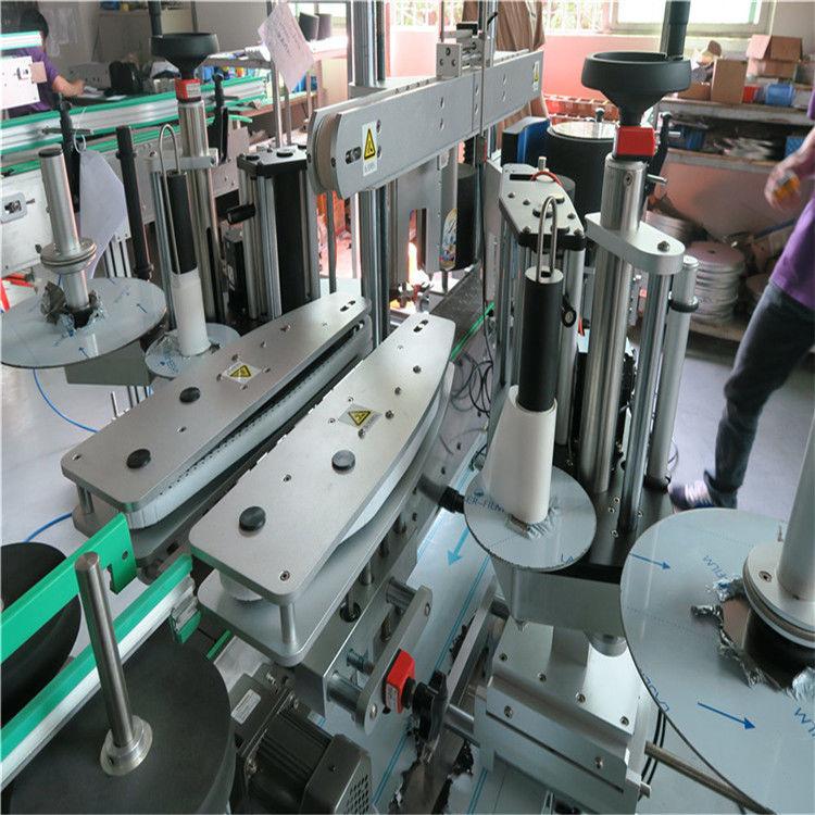 Proveedor de China máquina de etiquetaxe automática completa, máquina de etiquetaxe frontal e traseira de botella de auga