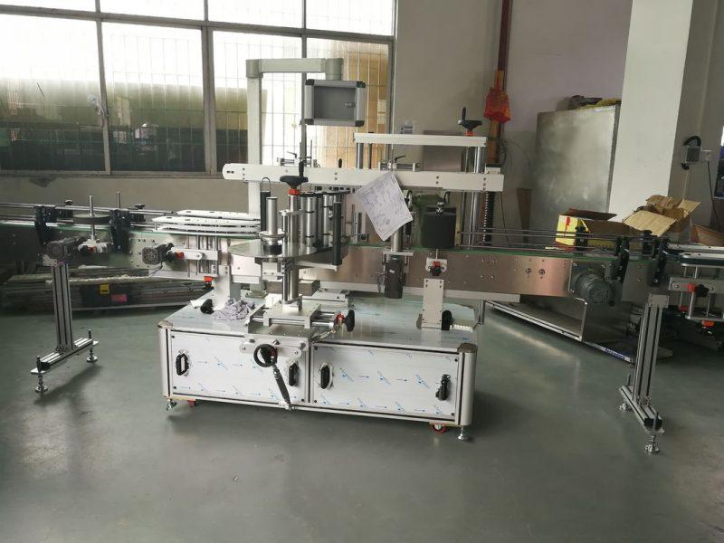 Máquina de etiquetaxe automática de botellas de zume / viño de China, provedor de máquina de etiquetaxe automática