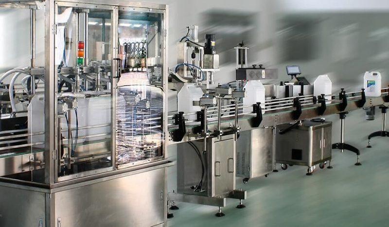 Aplicador de etiquetas adhesivas de dobre lado de alta velocidade de China, máquina de etiquetaxe automática para botellas redondas / cadradas / planas