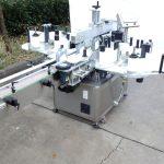Máquina de etiquetaxe personalizada de tres ou dobre cara con máquina de codificación