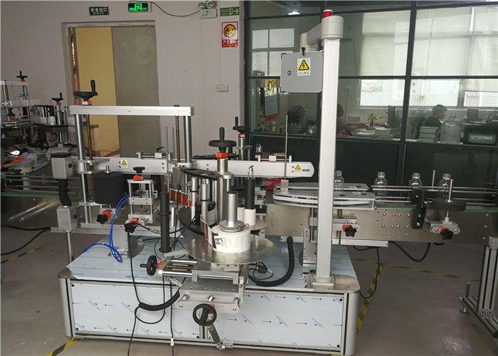 China Aplicador de etiquetas de botellas non redondas ou planas, provedor de equipos de etiquetaxe de botellas