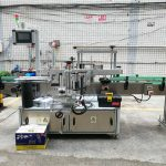 Aplicador de etiquetas frontal / traseiro e envolvente, máquina aplicadora de etiquetas