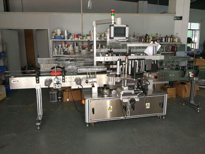 Máquina de etiquetaxe sensible á presión da botella plana por un ou dous lados