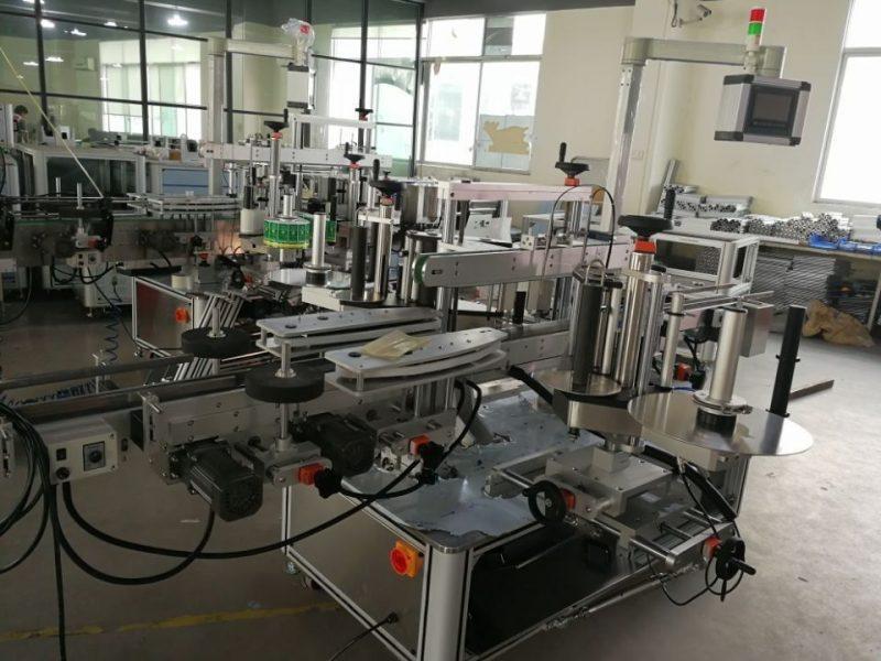 Proveedor de China Sistema de etiquetaxe de dobre canto de alta velocidade para caixas farmacéuticas