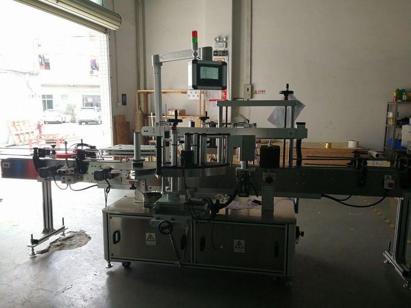 Proveedor de China máquina de etiquetaxe de botellas cadradas de dous lados 50HZ de alta precisión