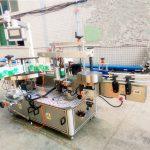 Máquina de etiquetaxe de adhesivo dobre lateral para xampú e deterxente