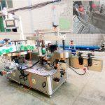 Máquina de etiquetaxe autoadhesiva automática para xampú e deterxentes