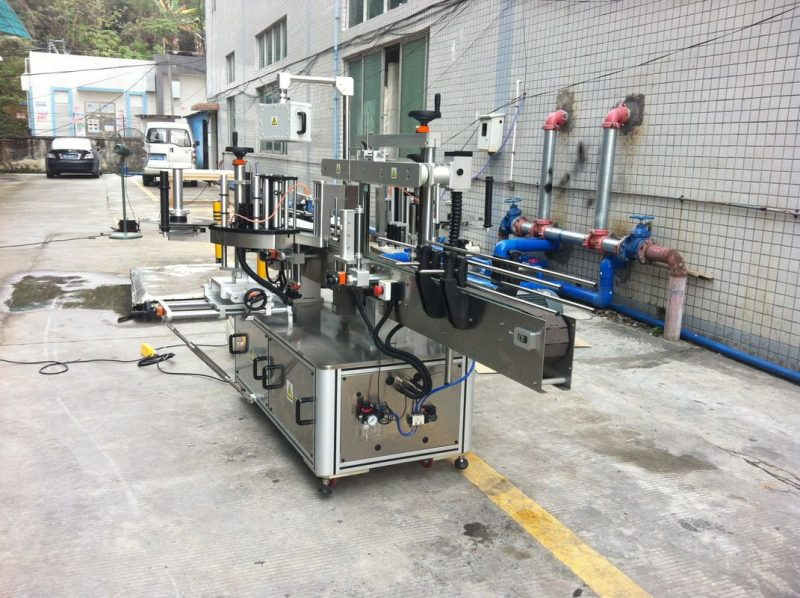 Máquina aplicadora de adhesivos de China para provedor de cono cadrado redondo de auga mineral