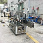 Máquina aplicadora de adhesivo adhesivo para cono cadrado redondo de auga mineral
