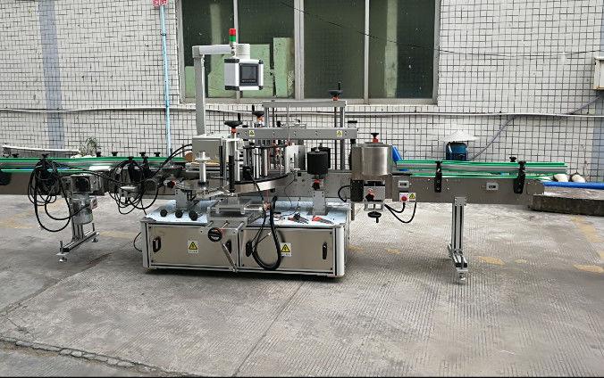 China Máquina de etiquetaxe automática de dúas caras con motor servo