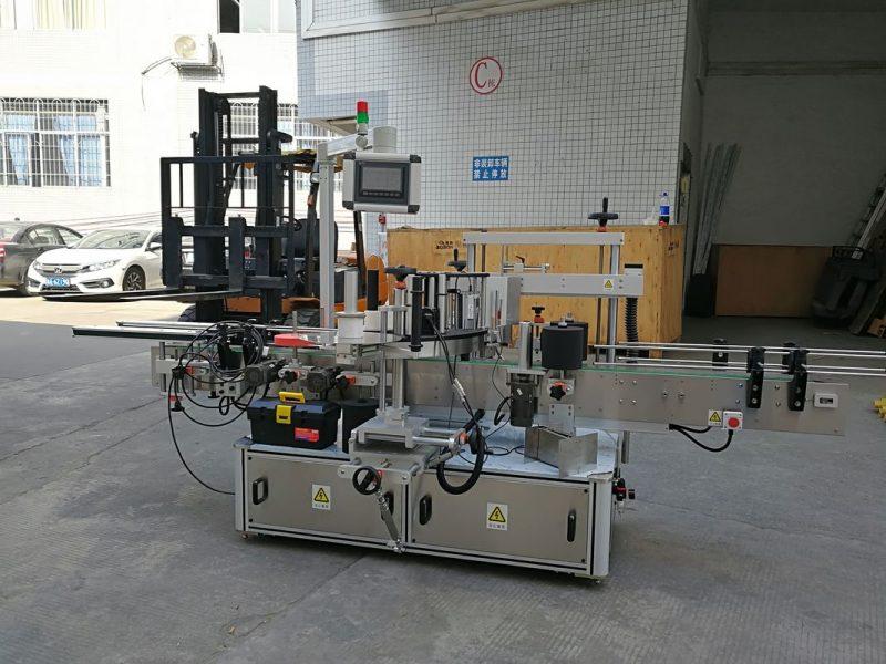 China Máquina de etiquetaxe de etiquetas automáticas CE para selado de cantóns de cartón pequeno