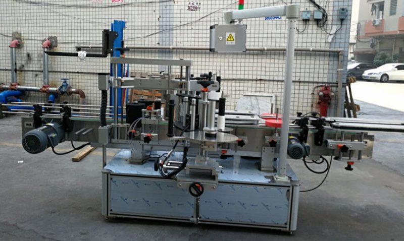 Proveedor de China Máquina de etiquetaxe automática de botellas ovaladas elípticas de 1200W