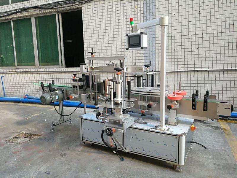 China Máquina de etiquetaxe de envoltura de alta velocidade para botella oval 220V provedor