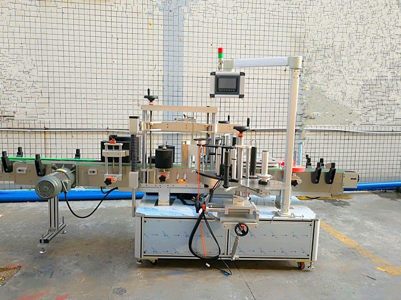 China Máquina de etiquetaxe automática simple e frontal con dobre lado