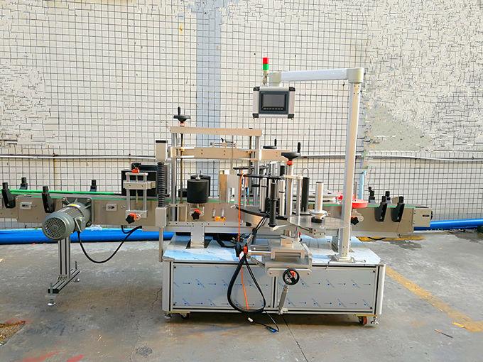 Máquina de etiquetaxe autoadhesiva sensible á presión dianteira e traseira con motor importado