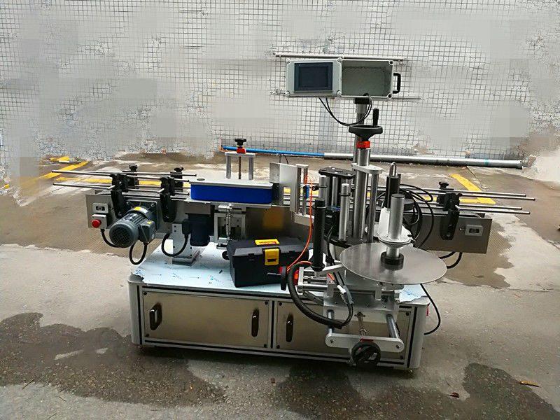 Proveedor de China máquina automática de etiquetaxe de etiquetas de botellas redondas (tipo de cinta)