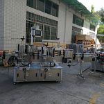 Etiquetadora de etiquetas de botellas planas / cadradas Capacidade completa automática de 5000-8000B / H
