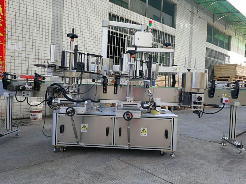 Proveedor de China máquina automática de etiquetaxe de botellas cadradas dun lado / sistema de etiquetaxe autoadhesivo